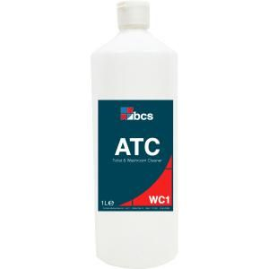 Atc limescale remover and acid toilet cleaner 1ltr for Sanivac concentrate bathroom cleaner and lime remover