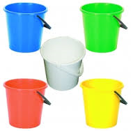 Lucy Colour Buckets  10 Litre Capacity
